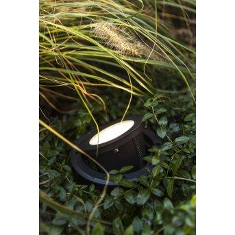 LUTEC ARTIC Bodeneinbauleuchte LED Schwarz, 1-flammig