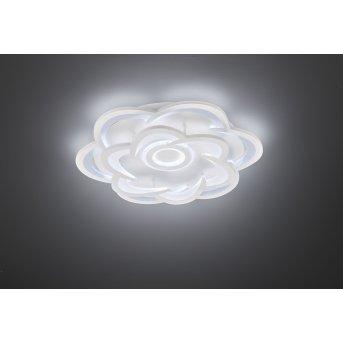 Wofi Ica Deckenleuchte LED Weiß, 1-flammig, Farbwechsler