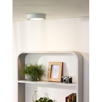 Lucide BRICE Deckenleuchte LED Weiß, 1-flammig
