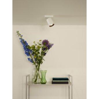 Lucide NIGEL Deckenstrahler LED Weiß, 1-flammig