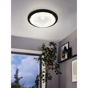 Eglo ACOLLA Deckenleuchte LED Schwarz, 1-flammig
