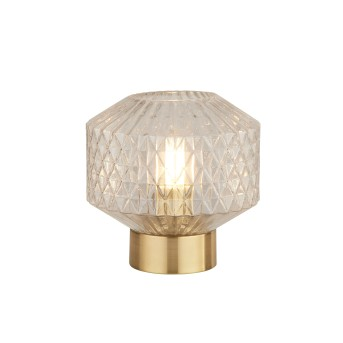 Searchlight Table Lamp Tischleuchte Gold, 1-flammig