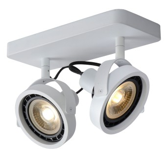 Lucide TALA Deckenstrahler LED Weiß, 2-flammig