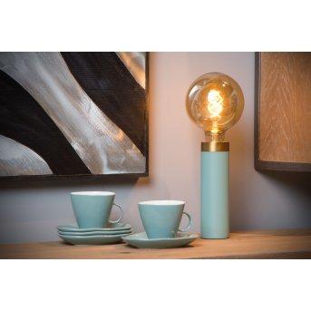 Lucide SELIN Tischlampe Blau, 1-flammig