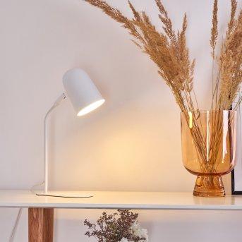 Gilsbro Tischleuchte Weiß, 1-flammig