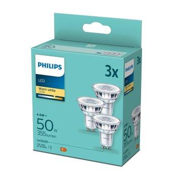Philips LED GU10 4,6 Watt 2700 Kelvin 355 Lumen