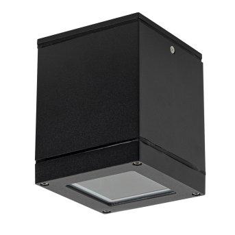 KS Verlichting Sigma Außendeckenleuchte Schwarz, Weiß, 1-flammig