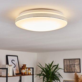 Niebla Deckenpanel LED Weiß, 1-flammig