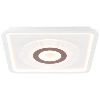 Brilliant Jarev Deckenleuchte LED Weiß, 1-flammig, Fernbedienung