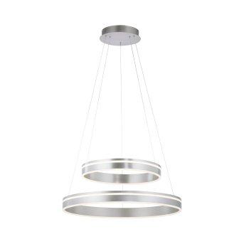 Paul Neuhaus Q-VITO Pendelleuchte LED Silber, 2-flammig, Fernbedienung