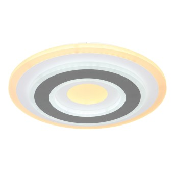 Globo SABATINO Deckenleuchte LED Weiß, 1-flammig