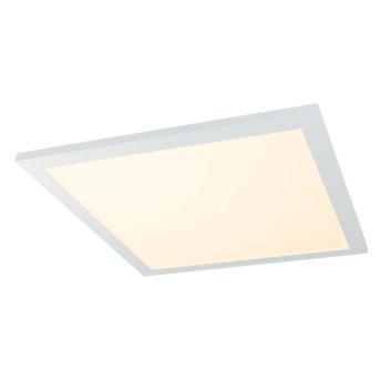 Globo ROSI Deckenpanel LED Weiß, 1-flammig, Fernbedienung, Farbwechsler