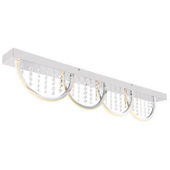 Globo GERT Deckenleuchte LED Weiß, 1-flammig, Farbwechsler