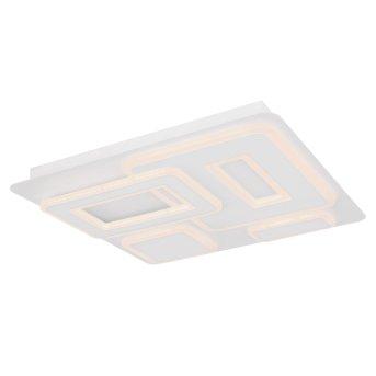 Globo RAVIVA Deckenleuchte LED Weiß, 1-flammig