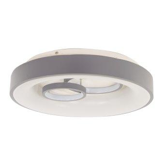 Globo MAVY Deckenleuchte LED Grau, 1-flammig