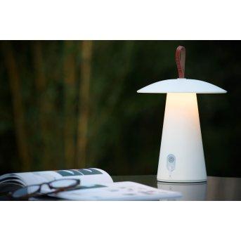 Lucide LA DONNA Tischlampe LED Weiß, 1-flammig