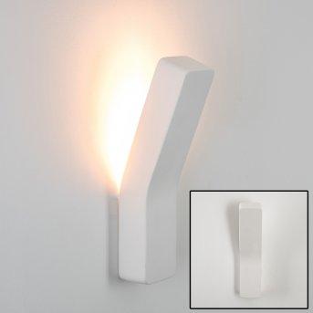 Bettona Wandleuchte Weiß, 1-flammig