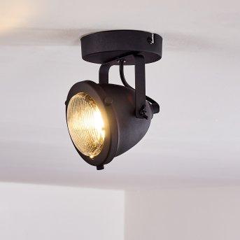 Glostrup Deckenleuchte LED Schwarz, 1-flammig
