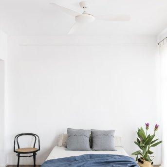 Faro Barcelona Islot Deckenventilator Weiß, Fernbedienung