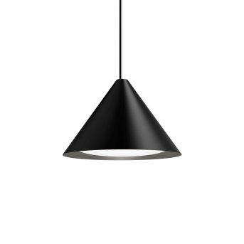 Louis Poulsen Keglen Pendelleuchte LED Schwarz, 1-flammig