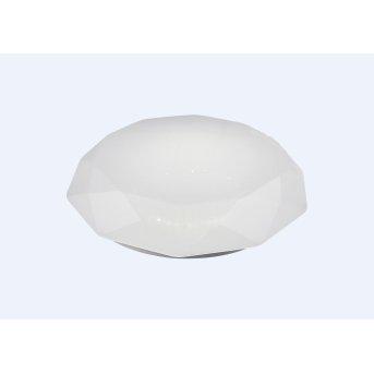 Mantra DIAMANTE SMART Deckenleuchte LED Weiß, 1-flammig, Fernbedienung