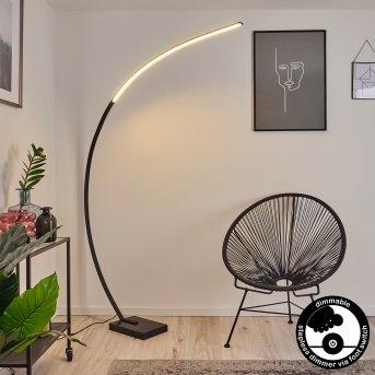 Tobillos Stehleuchte LED Schwarz, 1-flammig