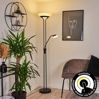 Mairoa Stehleuchte LED Schwarz, 2-flammig