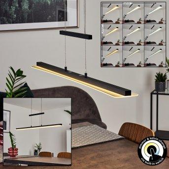 Barrud Pendelleuchte LED Schwarz, 1-flammig