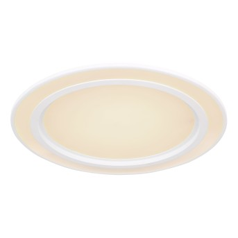 Globo DAHLA Deckenleuchte LED Weiß, 1-flammig, Farbwechsler