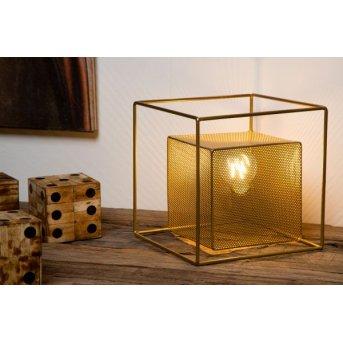 Lucide MORRIS Tischleuchte Gold, 1-flammig