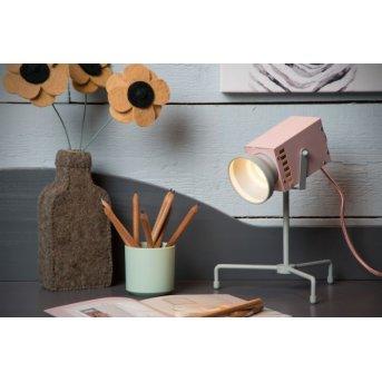 Lucide BEAMER Tischleuchte LED Grau, 1-flammig
