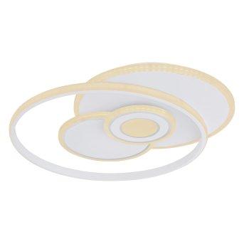 Globo RODERICK Deckenleuchte LED Weiß, 1-flammig, Farbwechsler