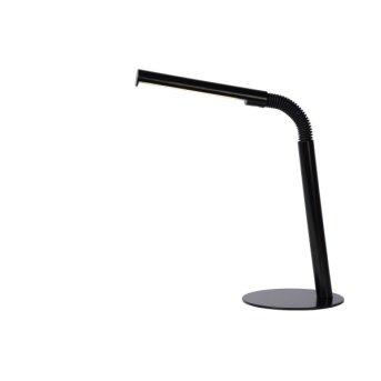 Lucide GILLY Tischleuchte LED Schwarz, 1-flammig