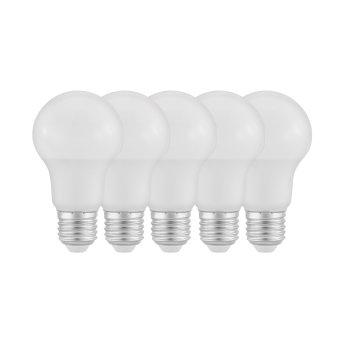 Eglo 5er Set LED E27 9 Watt 2700 Kelvin 806 Lumen