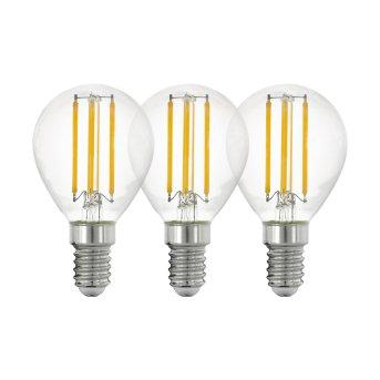 Eglo 3er Set LED E14 4 Watt 2700 Kelvin 470 Lumen