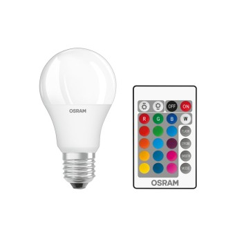 Osram LED STAR E27 9 Watt LED RGBW
