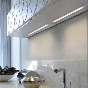 Paul Neuhaus AMON Unterbauleuchte Erweiterungsmodul LED Silber, 1-flammig, Bewegungsmelder