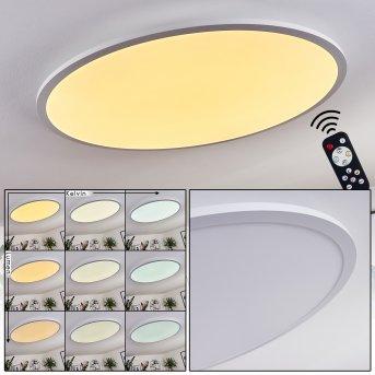 Sani LED Panel Weiß, 1-flammig, Fernbedienung
