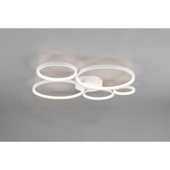 Trio Rondo Deckenleuchte LED Weiß, 1-flammig