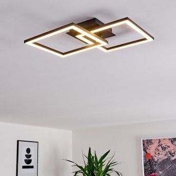 Thara Deckenleuchte LED Schwarz, 1-flammig
