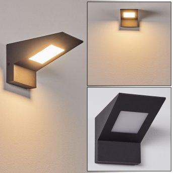 Matlava Außenwandleuchte LED Anthrazit, Weiß, 1-flammig