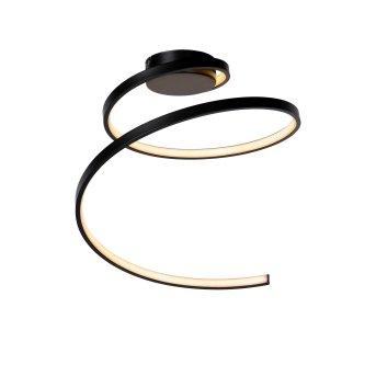 Lucide MAXENCE Deckenleuchte LED Schwarz, 1-flammig