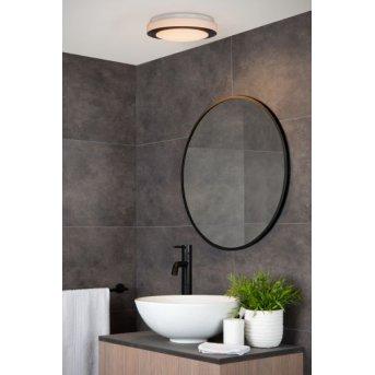Lucide DIMY Deckenleuchte LED Schwarz, Weiß, 1-flammig