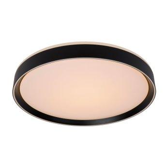Lucide NURIA Deckenleuchte LED Schwarz, 1-flammig