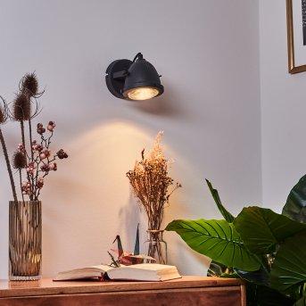 Glostrup Wandleuchte LED Schwarz, 1-flammig