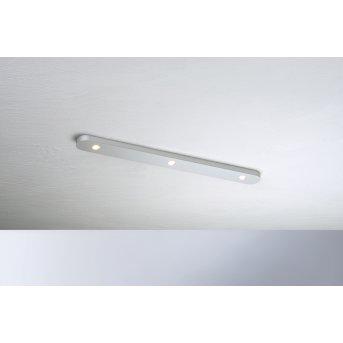 Bopp Leuchten CLOSE Deckenleuchte LED Silber, 3-flammig