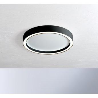 Bopp Leuchten AURA Deckenleuchte LED Schwarz, Weiß, 1-flammig