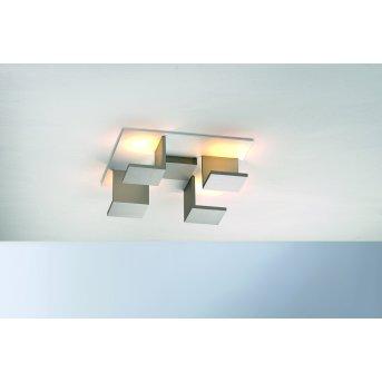 Bopp Leuchten REFLECTIONS Deckenleuchte LED Braun, Weiß, 4-flammig