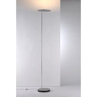 Bopp Leuchten SHARE Deckenfluter LED Silber, 1-flammig