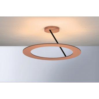 Bopp Leuchten STELLA Deckenleuchte LED Schwarz, Kupferfarben, 5-flammig